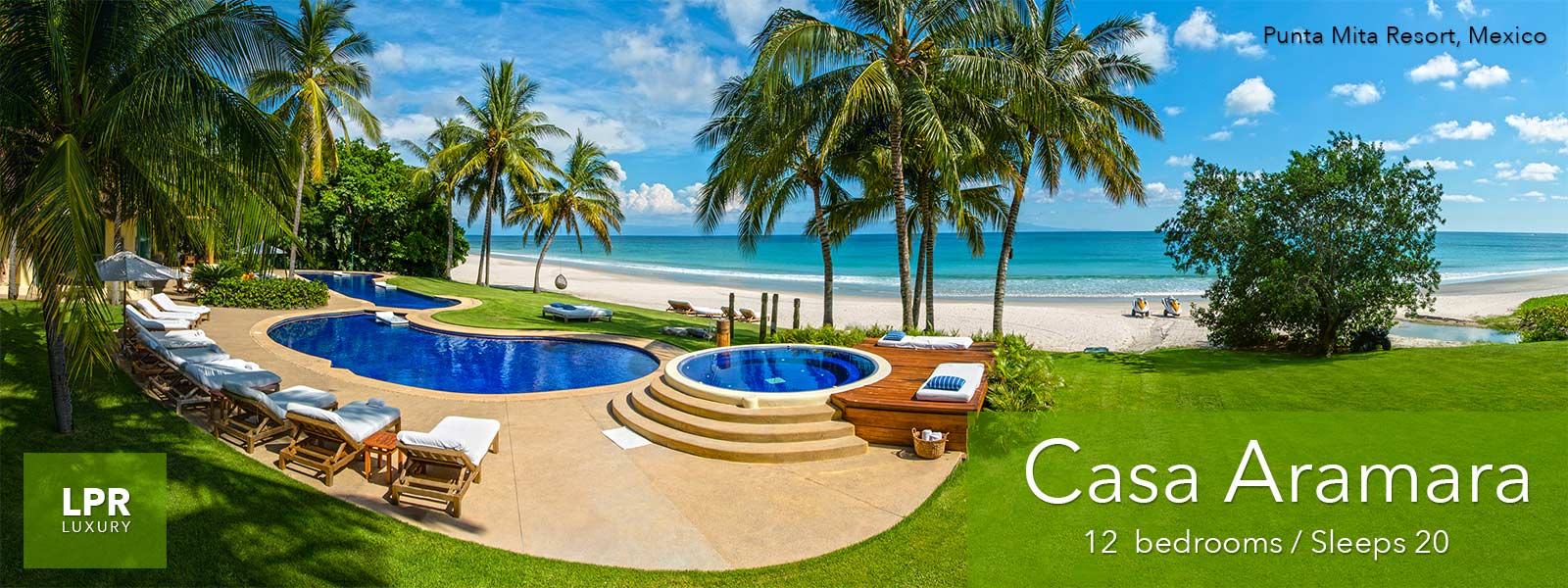 Casa Aramara at the Punta Mita Resort - Luxury Punta Mita Real Estate and Vacation Rentals Villa