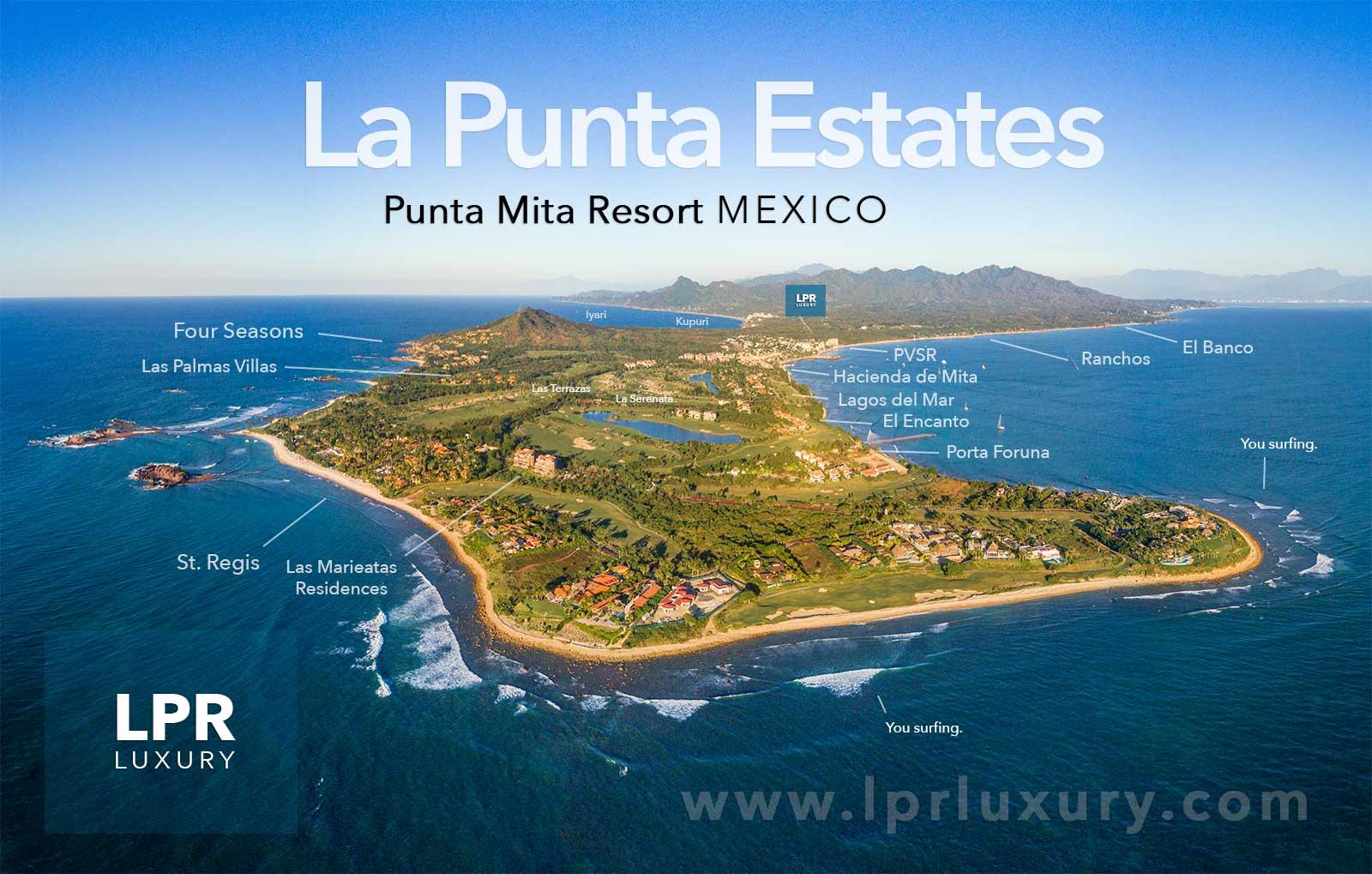 La Punta Estates - Punta Mita Resort Real Estate