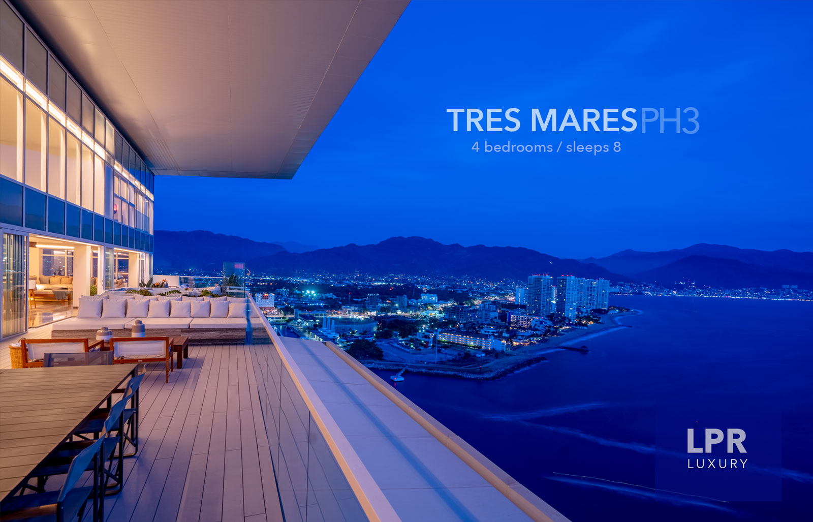 The Queen Penthouse at Tres Mares - Luxury Puerto Vallarta Real Estate and Vacation Rentals Villas