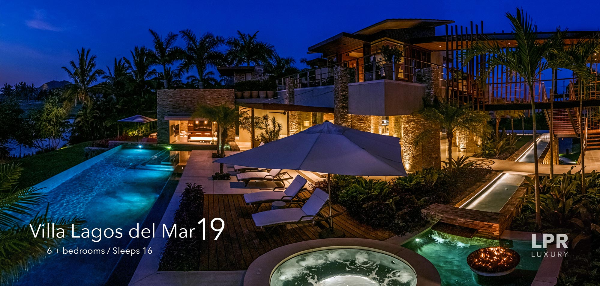 Villa Lagos del Mar 19 - Luxury Punta Mita Real Estate and Vacation Rentals Villas