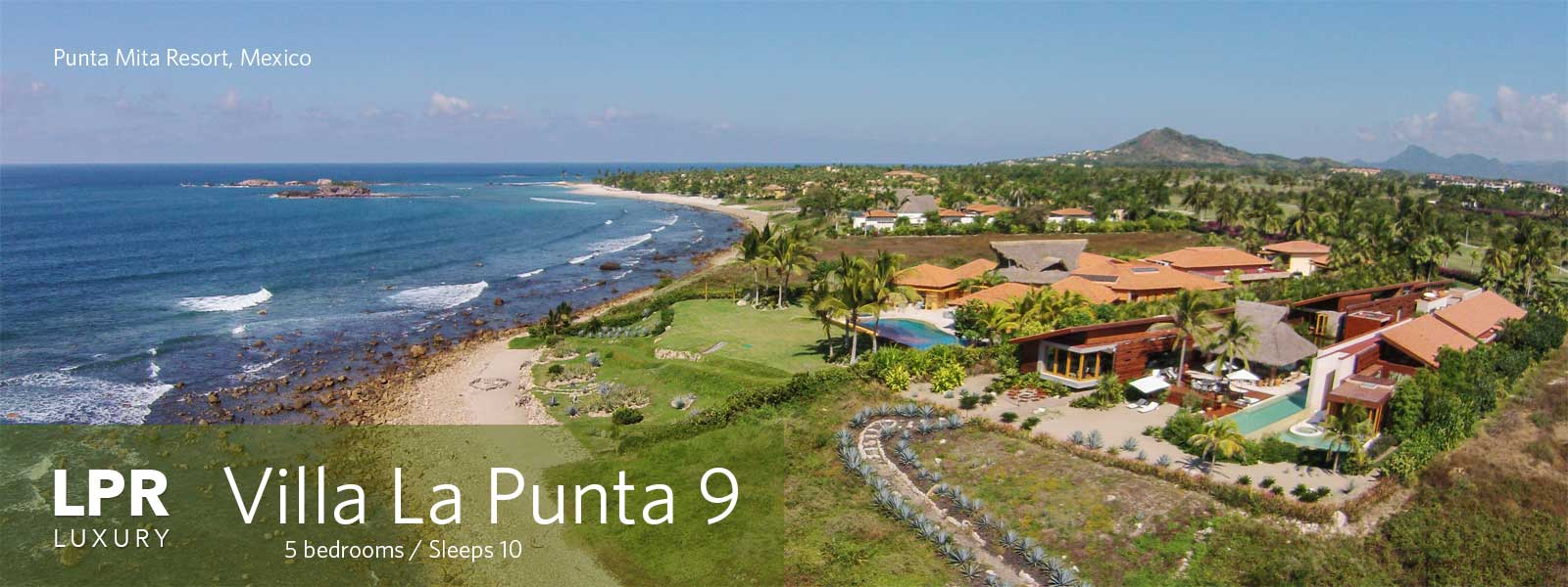 Villa La Punta 9 at the Punta Mita Resort - Luxury Punta Mita Real Estate and Vacation Rentals Villa