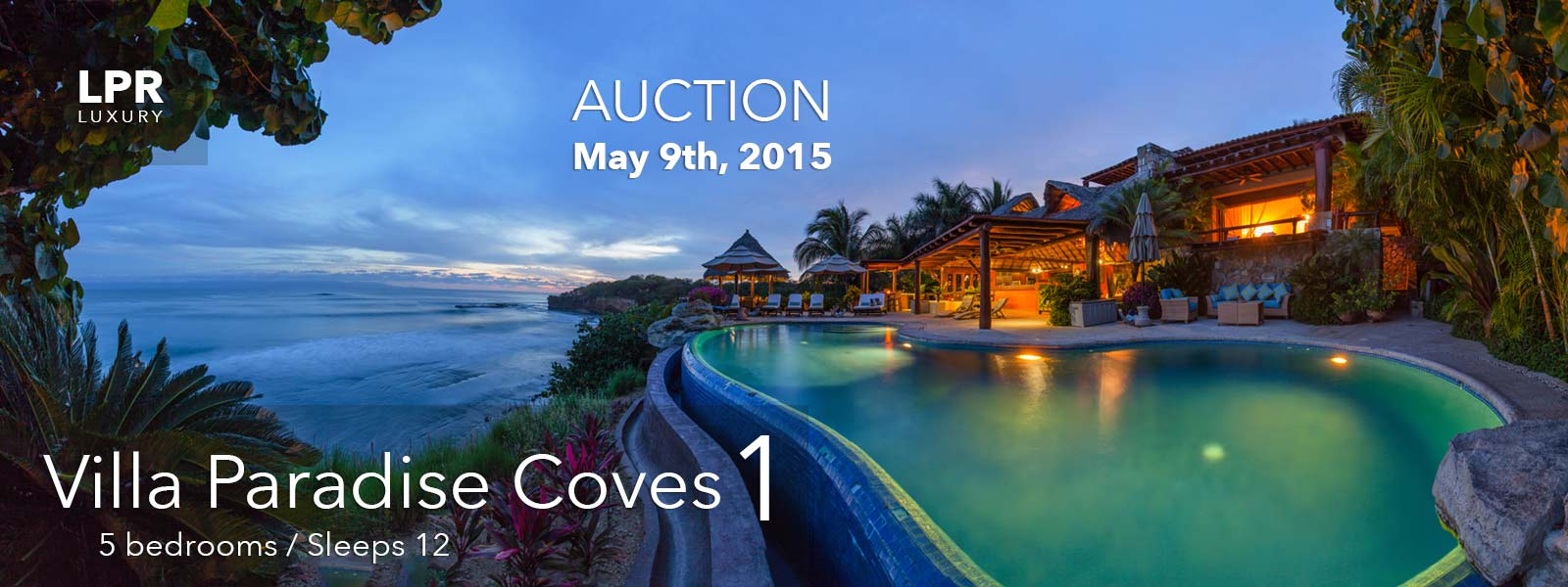 Luxury Real Estate AUCTION! Paradise Coves, Punta de Mita, Riviera Nayarit, Mexico.