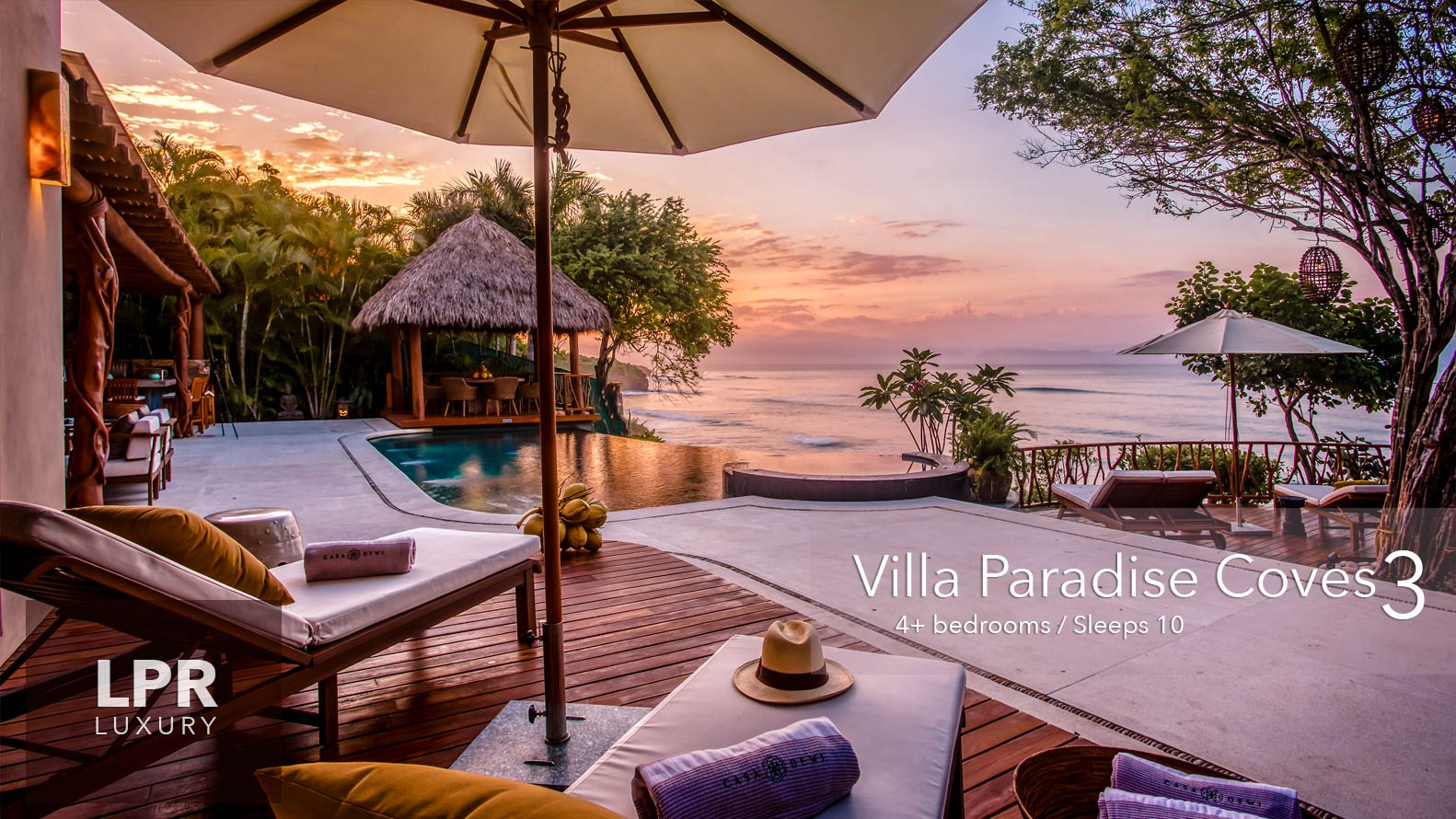 Villa Paradise Coves 3 - Luxury beachfront vacation rental villas for sale - Puerto Vallarta luxury real estate