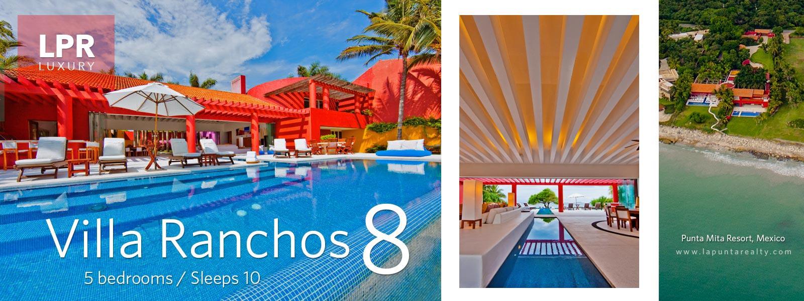 Villa Ranchos 8 - Ranchos Estates, Punta Mita Resort, Mexico