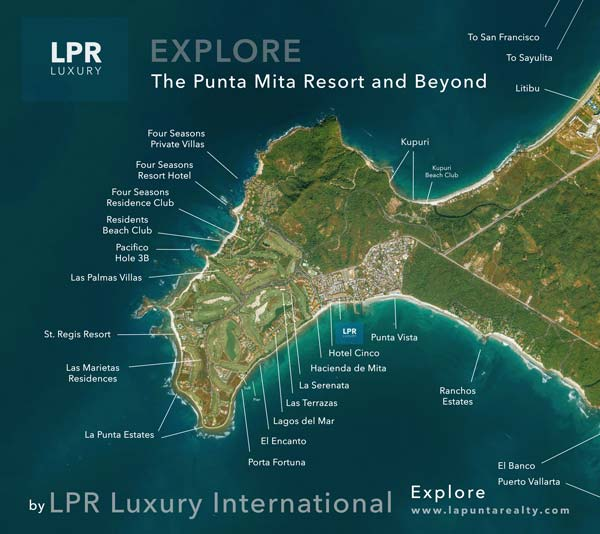 Explore the Punta Mita Master Plan - Punta Mita Resort - Mexico