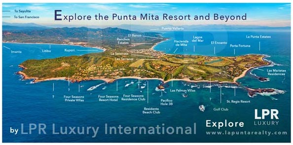 #EXPLORE  THE PUNTA MITA RESORT  RESIDENTIAL SUBDIVISIONS
