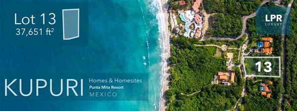 Kupuri Estates at the Punta Mita Resort - Mexico
