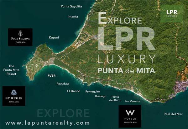 #EXPLORE THE PUNTA MITA RESORT RESIDENTIAL SUBDIVISIONS