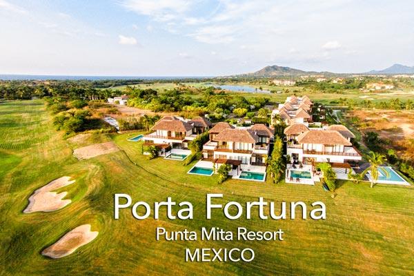 Porta Fortuna, Punta Mita - Mexico
